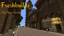 Freshbuilds: The Three Candles Minecraft Project
