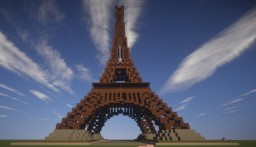 Tour Eiffel  [Eiffel Tower] Minecraft Map & Project
