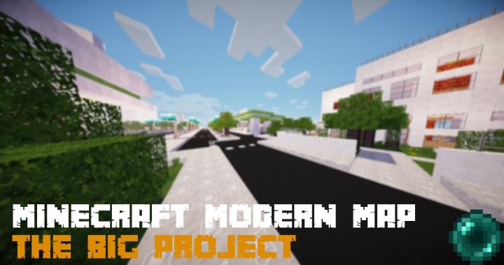 Modern Minecraft-City-Map | 1 8 X -> 1 9 Minecraft Project