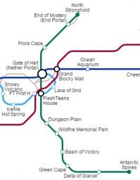 "[Let's Play] Subway Line 02 | My Minecraft World ""Republic of FlashTeens"" Minecraft Blog"