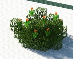 Mimulus Aurantiacus (Flowering Plant) Minecraft