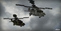 NH90 Military Helicopter [2 Liveries][+Download] Minecraft Map & Project