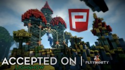 Lighshow «» Accepted on PlayMinity Network! Minecraft Map & Project