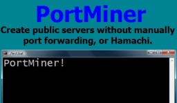 PortMiner 5.2 - Create public servers without portforwarding Minecraft