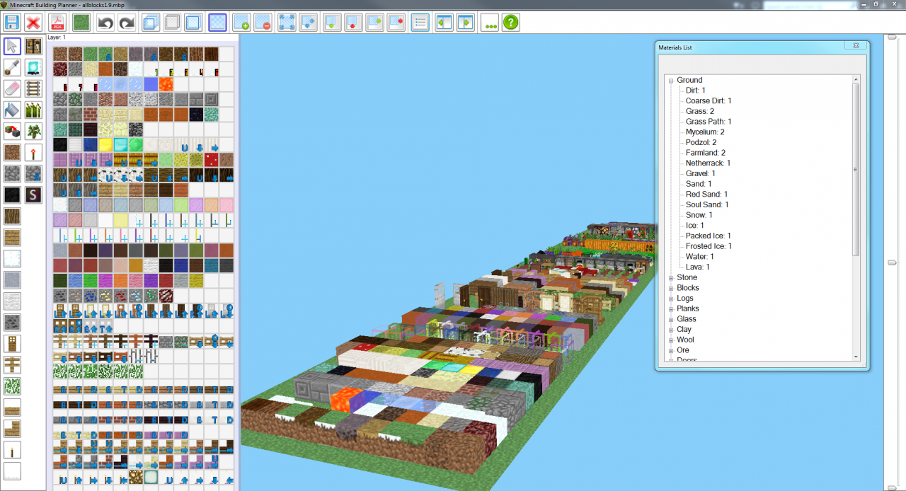 Minecraft building planner version 1 updated 10 17 for 3d building creator