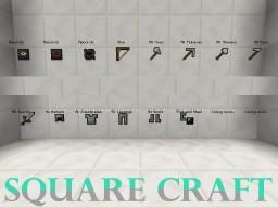 SquareCraft || 1.9.1 Minecraft Texture Pack