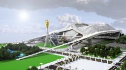 City Stadium Minecraft Map & Project