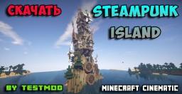 SteamPunk Island Minecraft Map & Project