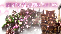 Oriental Steampunk Map pack [Free To Use] Minecraft