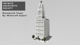 The Woolworth Tower By Minecraft Expert Minecraft Map & Project