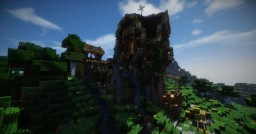 Medieval water mill Minecraft Map & Project