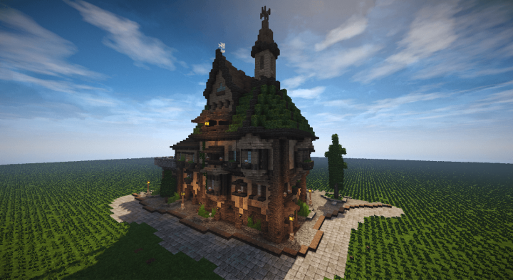 Magical Buildings Minecraft