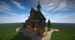 Medieval Tall House (Timelapse + Download) Minecraft