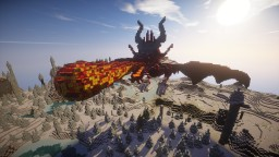 Fire Breathing Dragon - downloadable Minecraft Map & Project