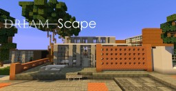 "Modern house ""DreamScape"" 6th post Minecraft Map & Project"