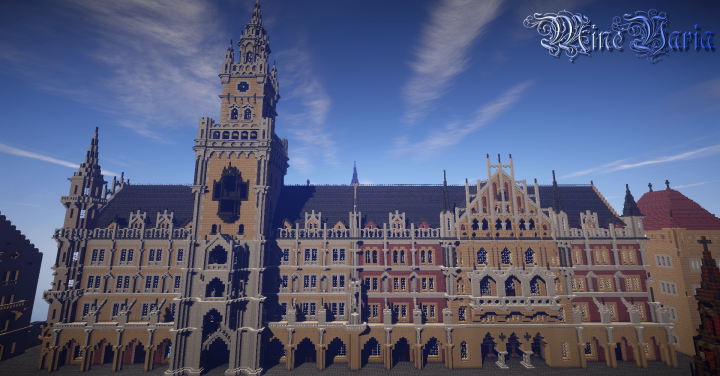 New Town Hall Munich Minecraft Project