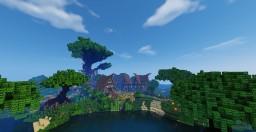 Elf Village Minecraft Map & Project