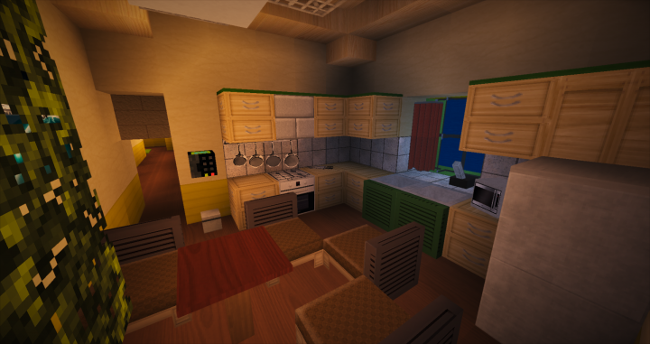 Modern Restaurant Bob S Burgers Minecraft Project
