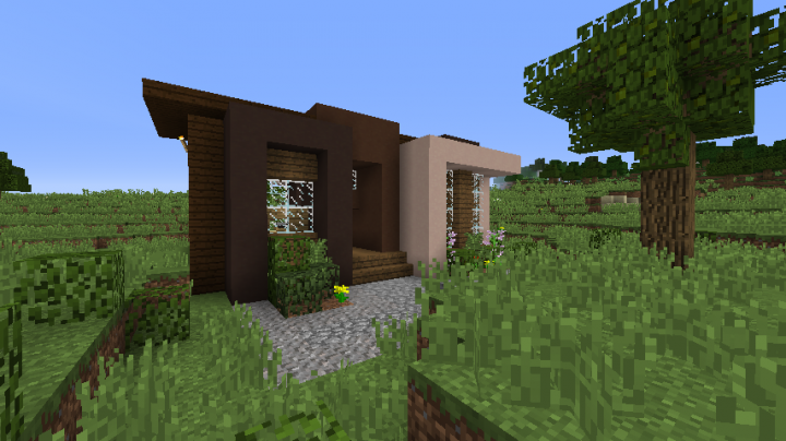 Minecraft Small Modern House 2 Minecraft Project