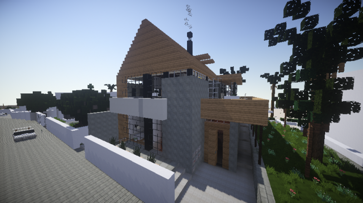 how to make a minecraft house in real life