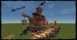Medieval Series: Barracks Minecraft Project