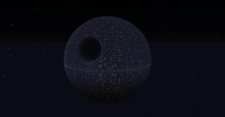 Star wars death star 1 etoile noire minecraft project - Etoile noire star wars ...