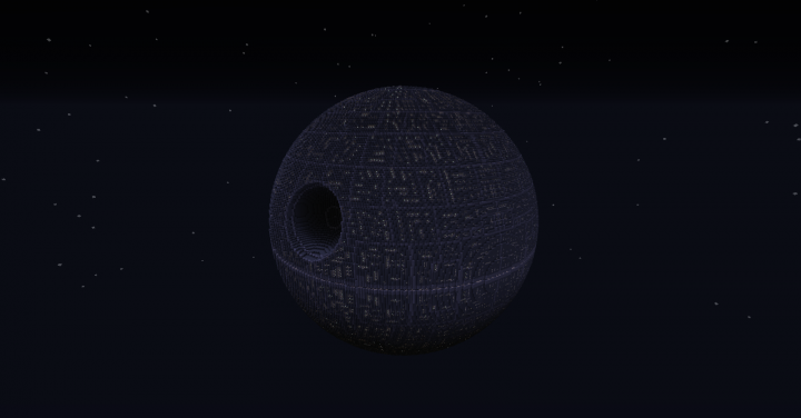 star wars death star 1 etoile noire minecraft project. Black Bedroom Furniture Sets. Home Design Ideas