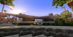 "Modern Beach House ""Stella"" 5th post Minecraft Map & Project"