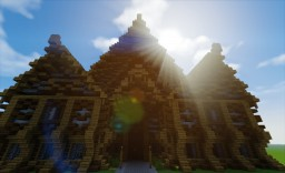 Fantasy Mansion Minecraft Map & Project