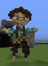 Skin Statue Minecraft Project