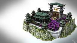 Chinese Temple Lobby Minecraft Map & Project