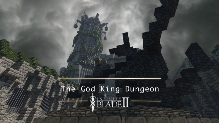 The God King Dungeon Infinity Blade Ii Minecraft Project