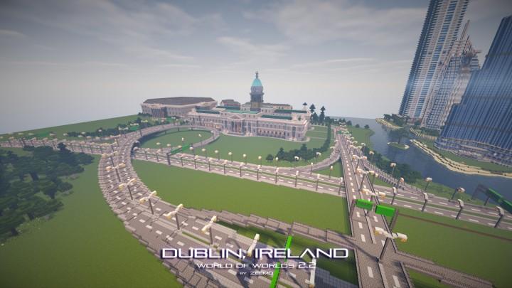 Dublin near a highway interchange