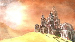 Argentum Civitatem | The Silver City - 45th [ Desert Detour contest ] Minecraft