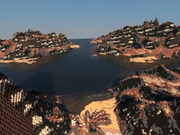 Volcano Crater brushes Minecraft