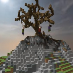The Hanging Tree - Suicide Awarness Minecraft Map & Project