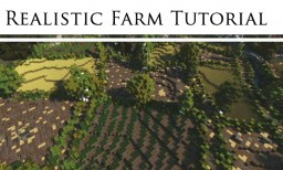 Realistic Medieval Farm Tutorial -  #WeAreConquest Minecraft