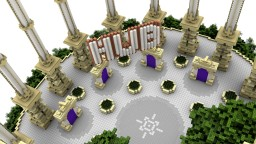 [Free Download] Server Hub - Above the clouds Minecraft Map & Project