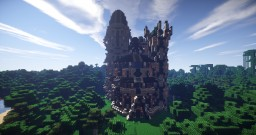 Elvish temple of Val'Malar Minecraft Project