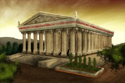 Temple of Gods Minecraft Project