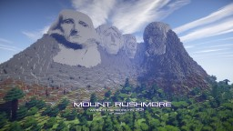 Mount Rushmore Minecraft