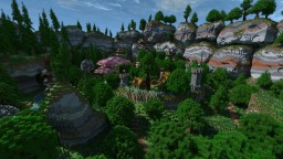 The Giant Boulders Minecraft Map & Project