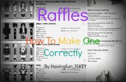 Raffles: How To Make One Correctly Minecraft Blog