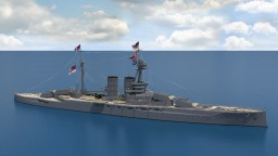 HMS Queen Elizabeth (1913) 4:1 Scale Minecraft