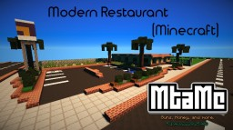 Modern Restaurant Minecraft Map & Project