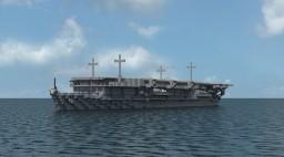 Japanese Light Aircraft Carrier Ryujo Minecraft Project
