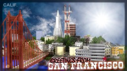 San Francisco - Galaxius Network Survival Games Map Minecraft Map & Project