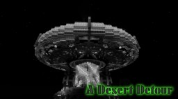 Desert Detour - UFO Refueling at a Temple Minecraft