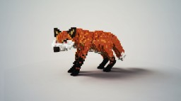 A Fox | My first Organic | NEED OPINIONS! Minecraft