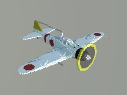 A6M Zero Fighter Minecraft Map & Project